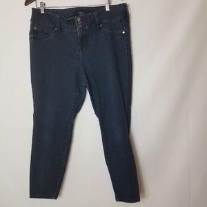 Torrid dark wash jeans size 18S